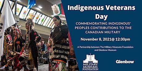 Indigenous Veterans Day tickets