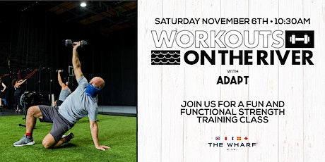 Workouts on the River at The Wharf Miami with ADAPT tickets