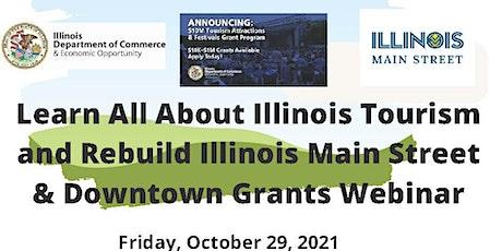 Information on Rebuild Downtown & Main Street Grant Program tickets