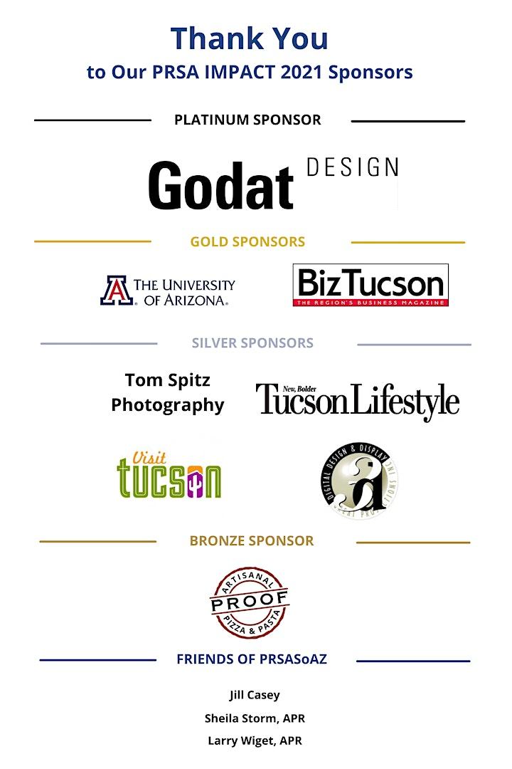 2021 PRSA Southern Arizona IMPACT Awards image