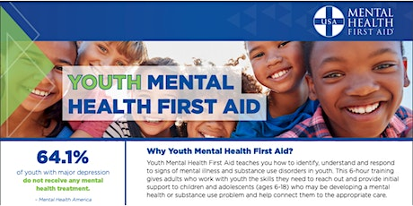 Youth Mental Health First Aid class tickets