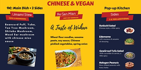 Authentic Chinese Vegan Popup Kitchen Tickets