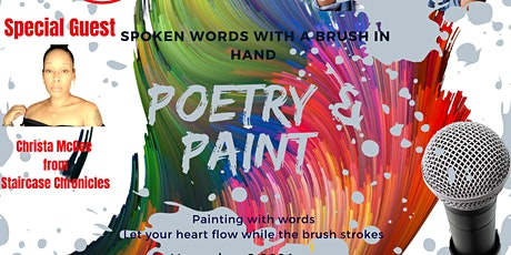 Poetry and Paint with a twist tickets