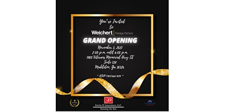 Prestige Partners Grand Opening tickets