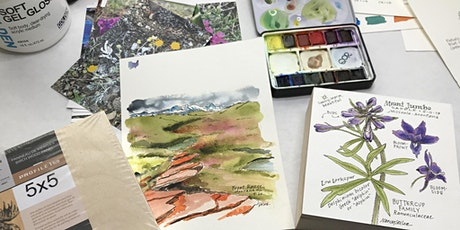 Nature Journaling with Nancy: Autumn Leaves in Watercolor tickets