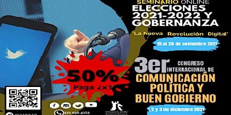 SEMINARIO ELECCIONES 2021-2022 Y GOBERNANZA entradas