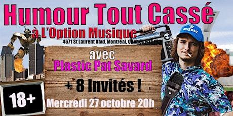 Soirée  l'Humour Tout Cassé VI tickets