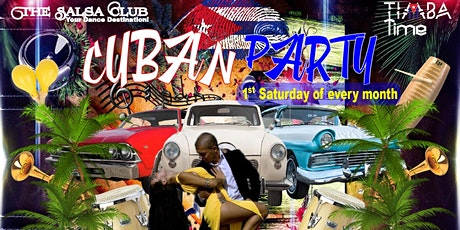 NOCHE CUBANA - Cuban Party with 2 Salsa Dance Lesson and Dancing in Toronto tickets