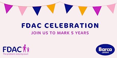 Barca-Leeds & FDAC 5 Year Celebration Event tickets