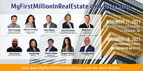Make Your 1st Million in Real Estate: Sales Bootcamp tickets