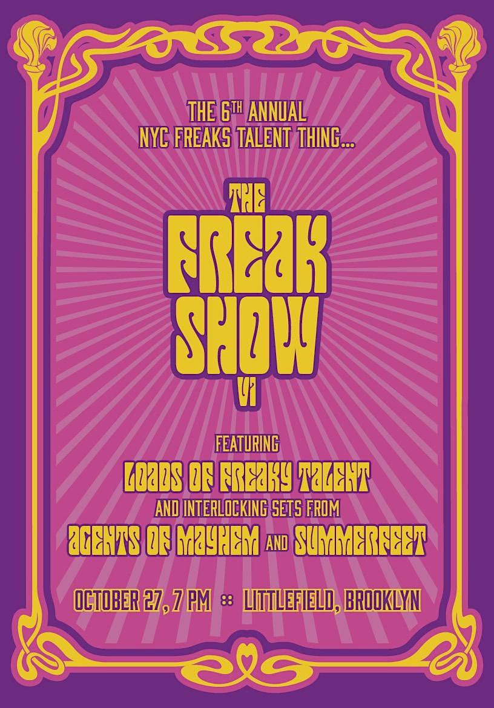 The Freak Show VI