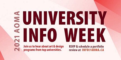 University Info Week tickets