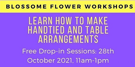 Blossome Flower Workshop tickets