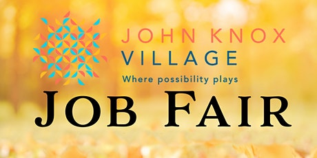 John Knox Village Job Fair tickets