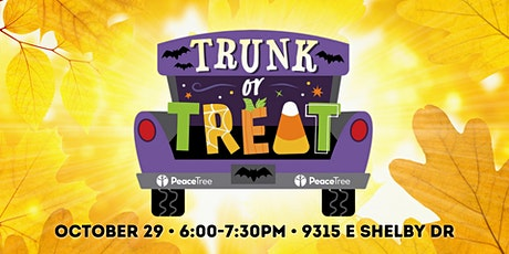 Trunk or Treat at Peace Tree tickets