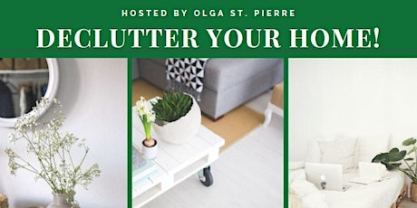 Webinar: How to Declutter your Home Stress Free! tickets