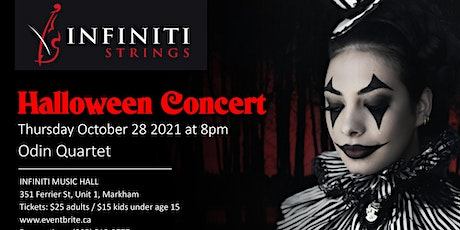 Halloween Concert by The Odin Quartet tickets
