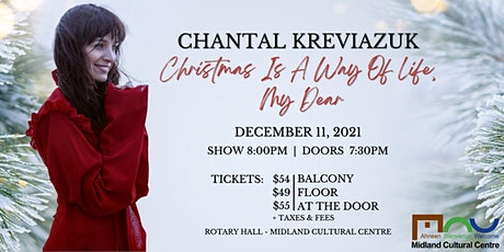 Chantal Kreviazuk: Christmas is a Way of Life, My Dear tickets
