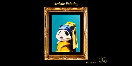 Sip and Paint: Panda Earring (Friday) tickets
