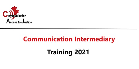 Communication Intermediaries - Live Webinar Discussion tickets
