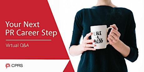 Your Next PR Career Step tickets
