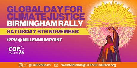 COP26 Birmingham March & Rally for Climate Justice tickets