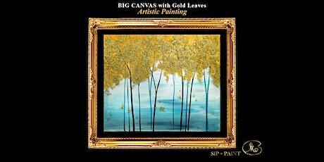 Big Painting Workshop : Gold Leaf Tree (Sunday) tickets