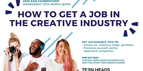 Getting a Job in the Creative Industries tickets