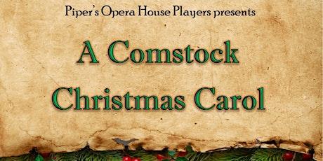 A Comstock Christmas Carol tickets