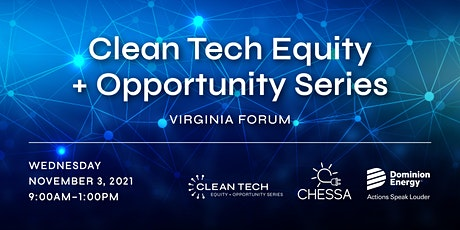 Clean Tech Equity + Opportunity Series - Virginia Forum tickets
