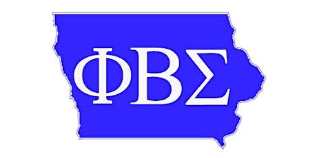 Phi Beta Sigma Fraternity Inc. Informational(Iowa) tickets