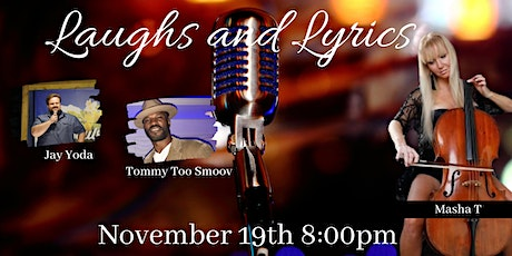 Laughs and Lyrics Night at the Roxy tickets