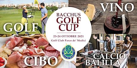 Bacchus Golf Cup by Aerogolf biglietti