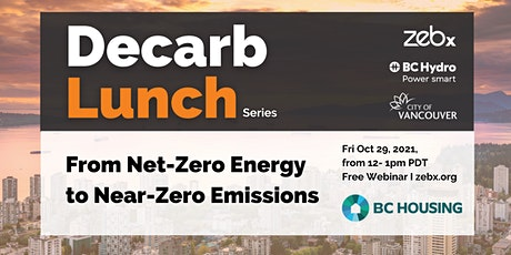 Oct 2021 ZEBx Decarb Lunch tickets