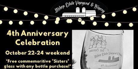 4th Anniversary Weekend Celebration at Bishop Estate tickets