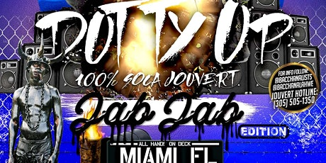 Dutty Up JAB JAB edition - 100% Soca Jouvert - Miami entradas