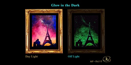 Sip and Paint (Glow in the Dark): Be With You (8pm Sat) tickets