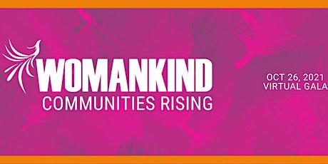 Womankind Gala 2021 billets