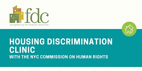 11/23 FDC Presents: Housing Discrimination Clinic tickets