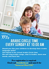 Arabic Circle Time - Sunday tickets