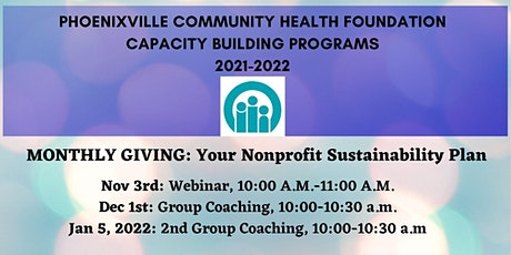 Monthly Giving: Your Nonprofit Sustainability Plan tickets