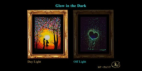 Sip and Paint (Glow in the Dark): Just Us (2pm Sat) tickets