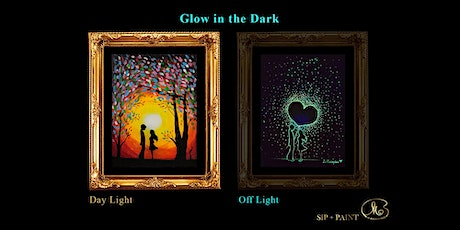 Sip and Paint (Glow in the Dark): Just Us (8pm Sat) tickets