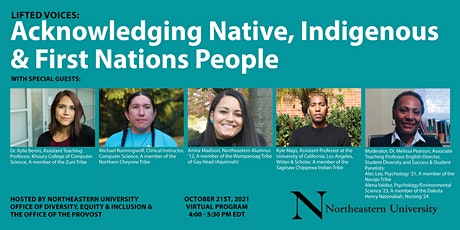 Lifted Voices: Acknowledging Native, Indigenous and First Nations People tickets