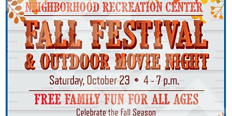 Fall Festival & Outdoor Movie Night tickets