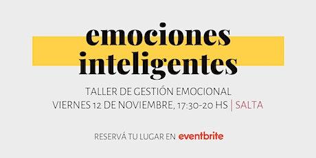 Emociones Inteligentes   Taller de Gestión Emocional tickets