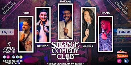 Strange Comedy Club - #95 billets