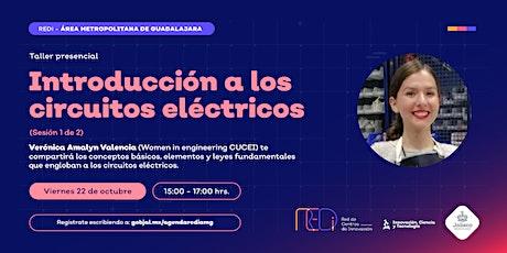 Introducción a los circuitos eléctricos (Sesión 1 de 2) boletos