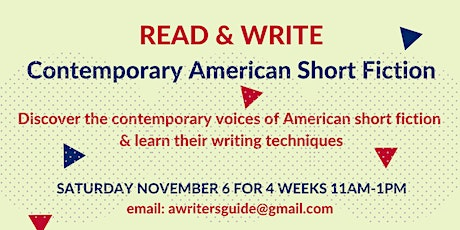 Read & Write - The Contemporary American Short Story tickets