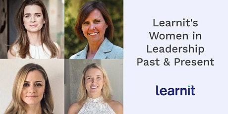 Learnit's Women in Leadership Past & Present tickets
